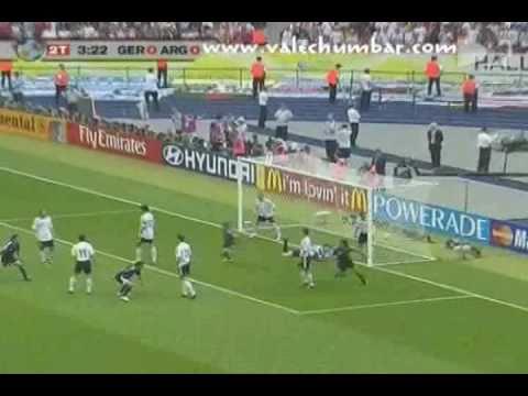 Mundial Alemania 2006-Cuartos de Finales-Alemania vs Argentina (goles y penaltis)