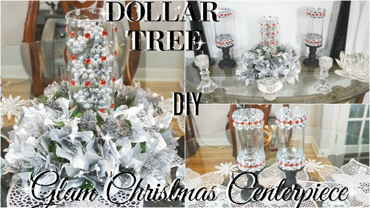 Diy dollar tree glam centerpiece diy dollar store bling christmas decor diy home decor youtube - Dollar store home decor ideas pict ...