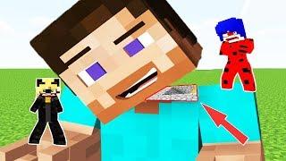 Dev Steve İÇİnde Gİzlİ Herobrİne Bulduk  Minecraft