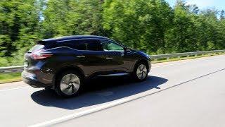 Ниссан Мурано 2019 тест драйв. Nissan Murano с 3.5 - литровым бензиновым мотором. + Розыгрыш флешки