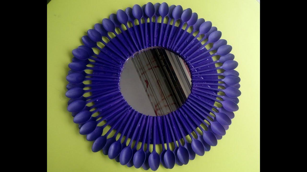 Espejo con cucharas youtube - Tocadores con espejo ...