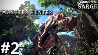 Monster Hunter World (PS4 Pro gameplay 2/3) - Astera i pierwsze zlecenie