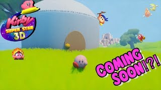 Can A 3d Kirby Game Happen?! Coming Soon?!