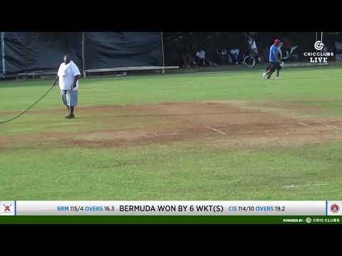 ICC Men's T20 World Cup Americas Region Final 2019: CAYMAN ISLANDS VS BERMUDA