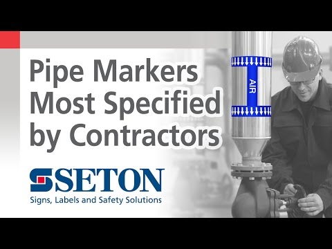 Seton Pipe Markers are Most Specified by Contractors | Seton Video