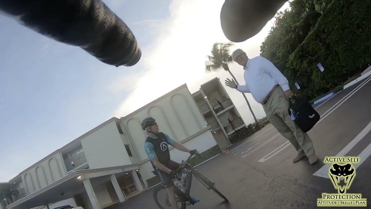 Florida Bicyclists Argue With Florida Man