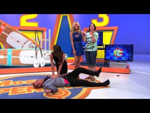 The Price Is Right - George Gets Tackled!