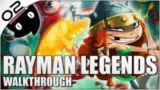 Rayman Legends 02 en Español (Con Cris) - mas plataformas en directo!!