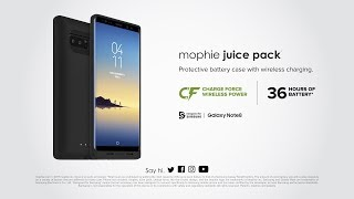 mophie juice pack for Samsung Galaxy Note8