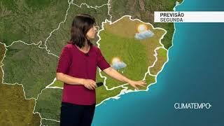 Previsão Sudeste – Risco de chuva forte no sul de MG