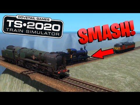 Train Simulator 2020 - Crash Compilation #4 |