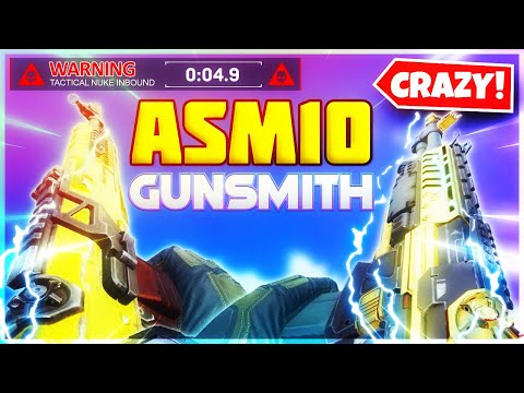 Fast ADS + NO RECOIL ASM10 Gunsmith Setup! BEST ASM10 Gunsmith Loadout? ASM10 Attachments COD Mobile