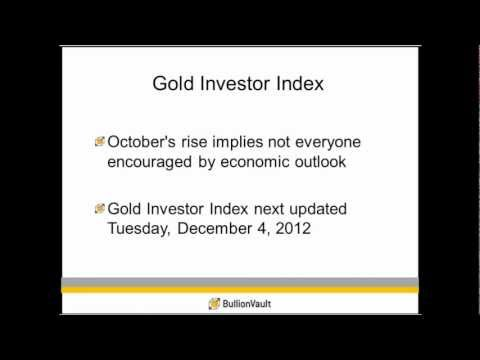 Gold Investor Sentiment Continues to Grow More Bullish -- BullionVault Gold Investor Index