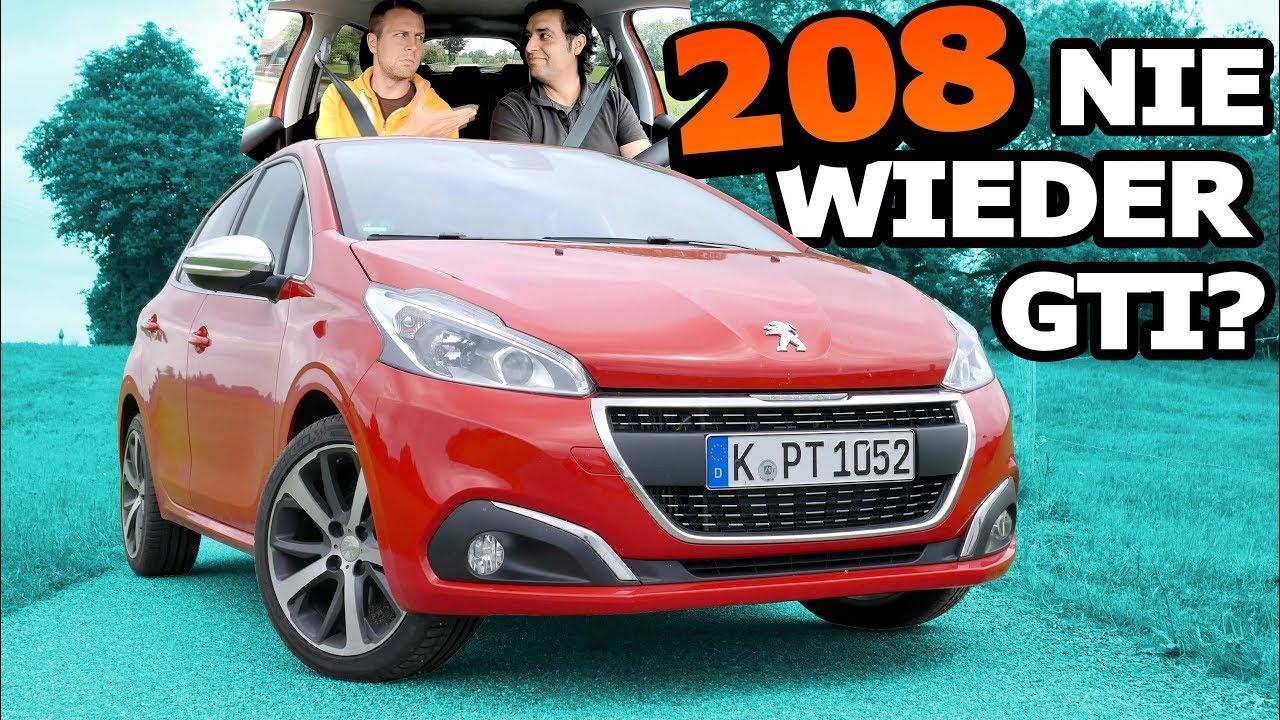 Peugeot 208 1.2 PureTech Allure S/S - Nie wieder 208 GTI? | Fahr doch
