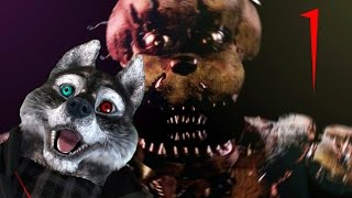 ALL ABOARD THE NOPE TRAIN | Five Nights at Freddy's 4 Part 1