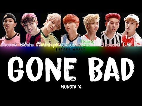 MONSTA X (몬스타엑스) – Gone Bad (삐뚤어질래) (COLOR CODED/HAN/ROM/ENG)