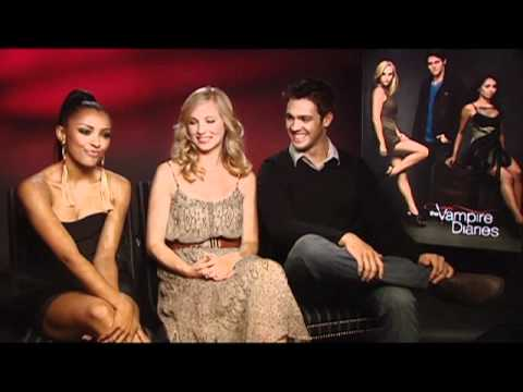 Vampire Diaries  with Candice Accola, Kat Graham and Steven R. McQueen
