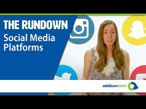 The Rundown: Social Media Platforms