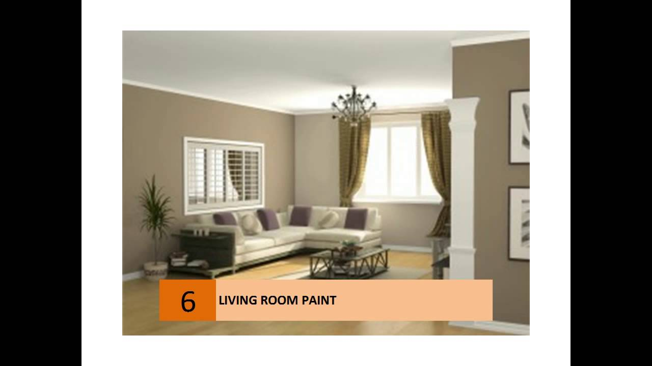 Living Room Paint Ideas Colors - YouTube on Room Painting id=93534