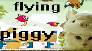 PhoneCats - Flying Piggy iPad iPhone Game