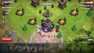 Clash of Clans - 100 Minion Attack ( 100 tane dalkavukla saldiri )