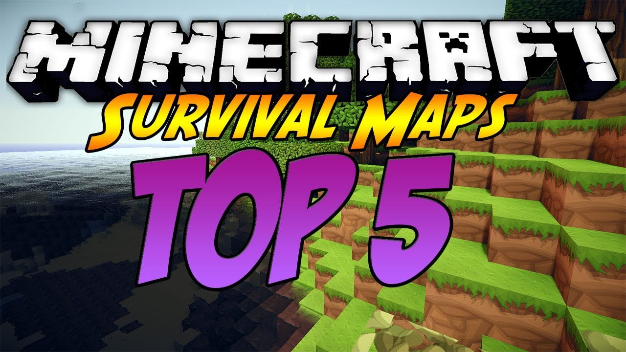 Minecraft: Top 5 Best Survival Maps - OF ALL TIME - YouTube
