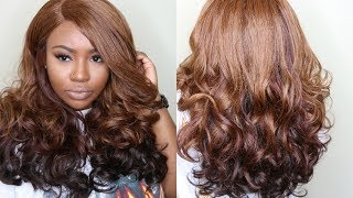 $35 Honey Brown Wig Perfection! |  OUTRE ADELE