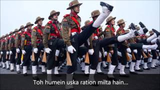 Badluram Ka Badan original song – Assam Regiment Marching Song with lyric