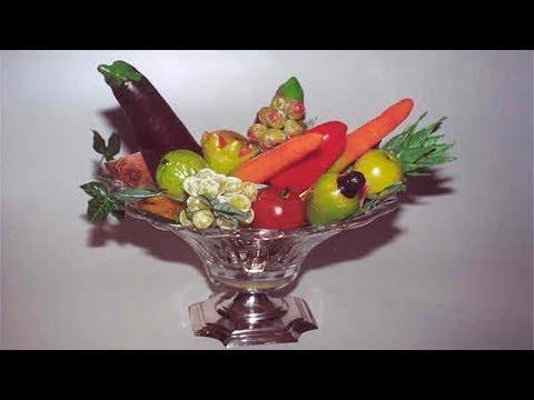 Curso a Distância Como Fazer Frutas e Legumes em Parafina