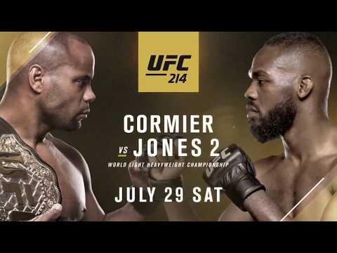 UFC 214 Daniel Cormier Vs Jon Jones 2 - Gangsta's Paradise