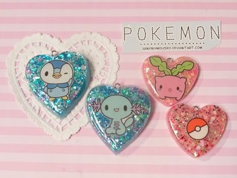 Watch Me Resin - Featuring Meowcaron Pokemon Stickers!