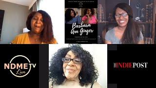 Barbara Ann Ginger  NDME TV Interview   Gina Sedman, Colette Owens & Rosalind Tellez-Griffin (2021)