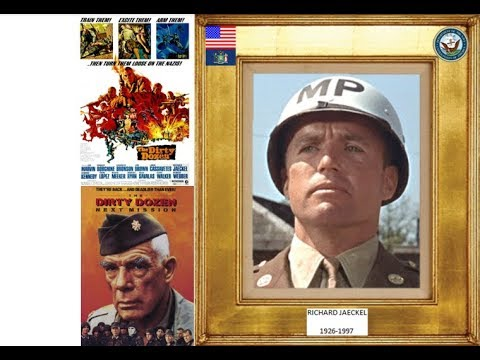 RICHARD JAECKEL 19261997 the dirty dozen, 2 1967, 1985
