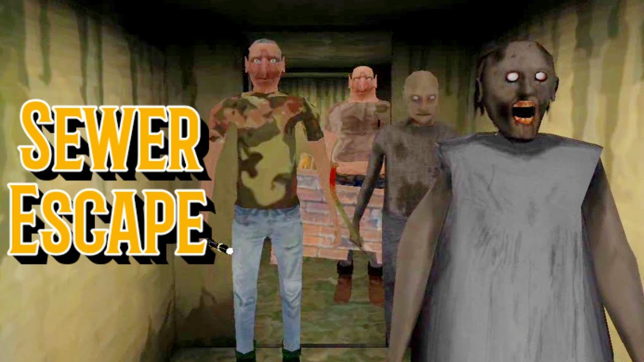 Download The Twins Sewer Escape With Granny And Grandpa
