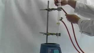 Using a Dean-Stark apparatus