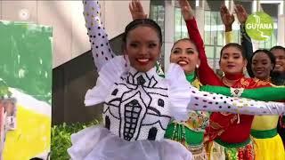 GUYANA AT DUBAI EXPO (SAMUEL MEDAS,POONAM SINGH,NEKEITA,GAVIN MENDONZA)
