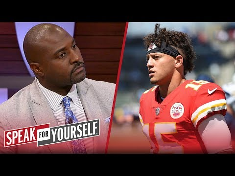 Patrick Mahomes won't top his MVP numbers from last season — Wiley | NFL | SPEAK FOR YOURSELF