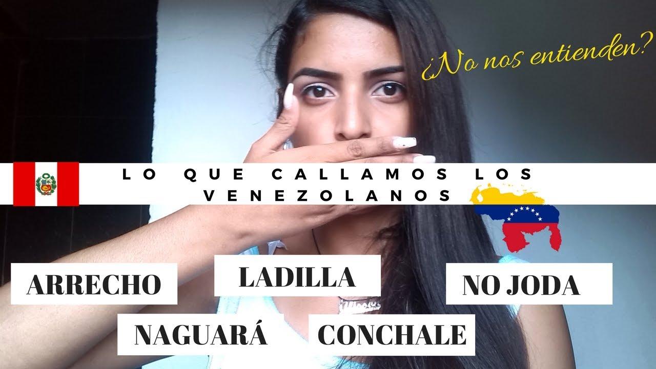 Palabras Venezolanas En Perú Ali Rodríguez