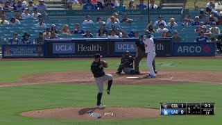 Dodgers vs Rockies Highlights | RYU HITS HIS 1st CAREER HOME RUN !!! | September 22, 2019