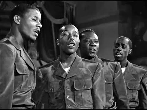 The Golden Gate Quartet - The General Jumped At Dawn