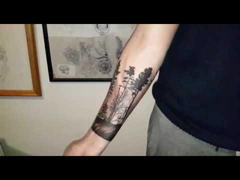 Mny Tattoo Tatuaje De árboles Youtube