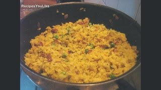 Poha (Rice Flakes) Ka Upma Recipe
