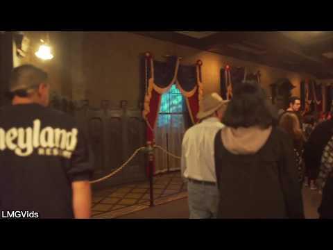 [4K] Haunted Mansion 2018 returns Disneyland Park California (Low Light) POV
