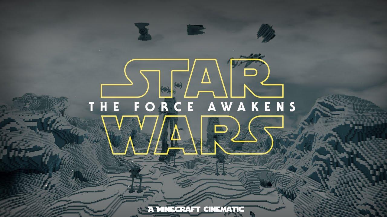 Minecraft Star Wars The Force Awakens