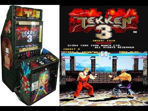 Namco System 12 PCB Tekken 3 Complete Gameplay (Arcade Hardware)