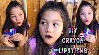 DIY: Lipstick Out Of CRAYONS | Txunamy