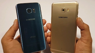 Galaxy S7 Edge vs Samsung Galaxy C7 Pro Speed Test [Urdu/Hindi]