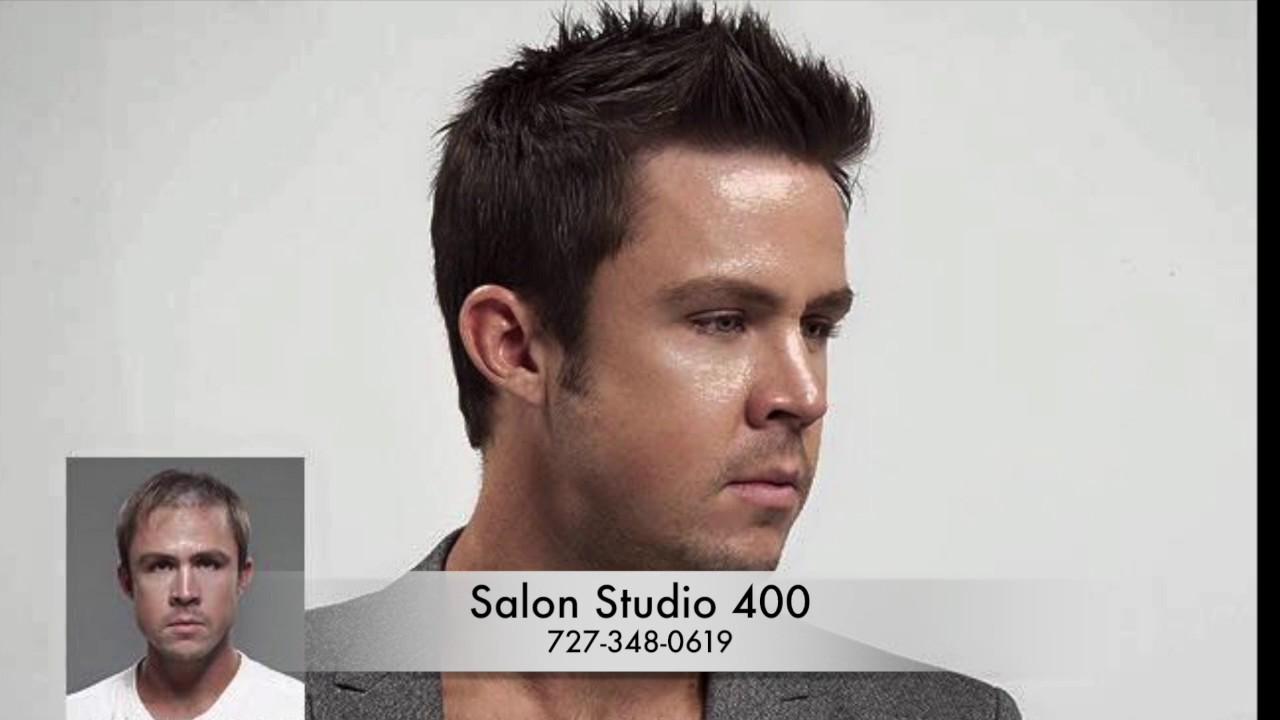 Mens Hair Systems Replacement At Salon Studio 400 Seminole Fl Hair