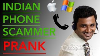Prank Indian Scam Computer Technician