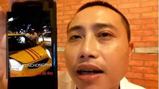 Nóng: Người dân Hà Nội khống chế tên tài xế sơn xe cờ 3 sọc phạm luật giao thông